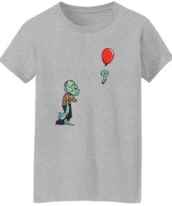 redirect09302021050931 7 247x296px Halloween zombie cut off arm balloon shirt