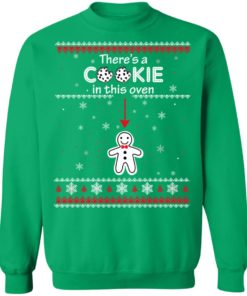 redirect10092021041000 1 247x296px Christmas Couple There's A Cookie In This Oven Shirt