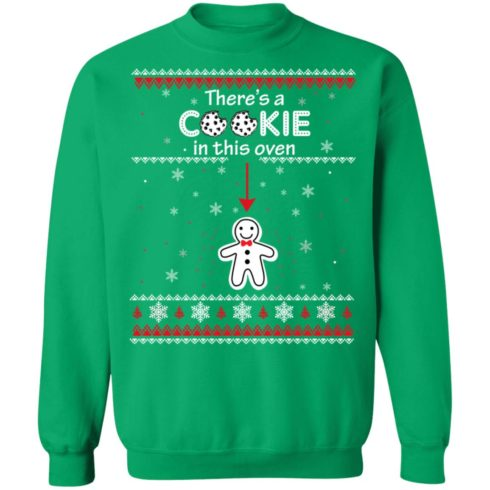 redirect10092021041000 1 490x490px Christmas Couple There's A Cookie In This Oven Shirt
