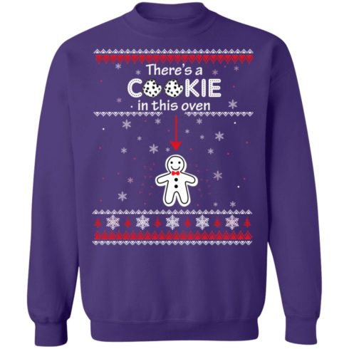 redirect10092021041000 490x490px Christmas Couple There's A Cookie In This Oven Shirt