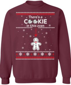 redirect10092021041059 5 247x296px Christmas Couple There's A Cookie In This Oven Shirt