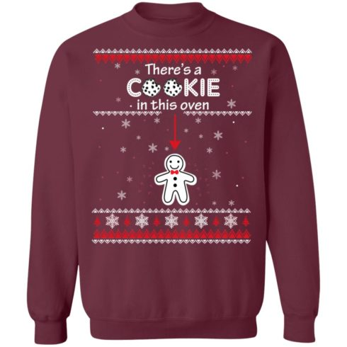 redirect10092021041059 5 490x490px Christmas Couple There's A Cookie In This Oven Shirt