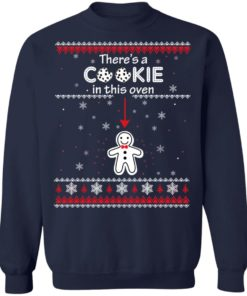 redirect10092021041059 6 247x296px Christmas Couple There's A Cookie In This Oven Shirt