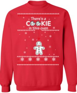 redirect10092021041059 7 247x296px Christmas Couple There's A Cookie In This Oven Shirt
