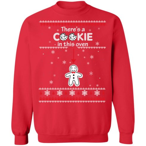 redirect10092021041059 7 490x490px Christmas Couple There's A Cookie In This Oven Shirt