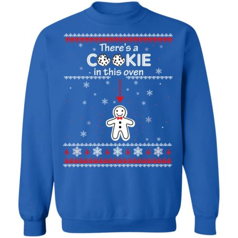 redirect10092021041059 8 490x490px Christmas Couple There's A Cookie In This Oven Shirt