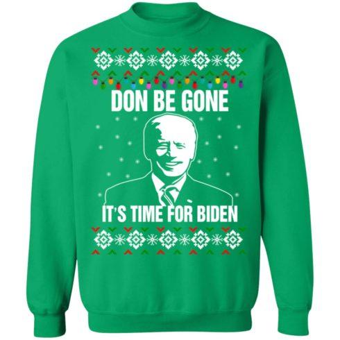 redirect10112021101008 10 490x490px Joe Biden Don Be Gone It's Time For Biden Christmas Sweatshirt