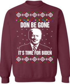 redirect10112021101008 5 247x296px Joe Biden Don Be Gone It's Time For Biden Christmas Sweatshirt