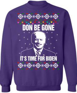 redirect10112021101008 9 247x296px Joe Biden Don Be Gone It's Time For Biden Christmas Sweatshirt