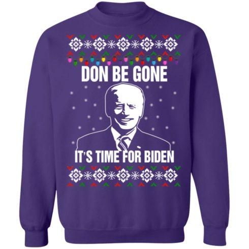 redirect10112021101008 9 490x490px Joe Biden Don Be Gone It's Time For Biden Christmas Sweatshirt