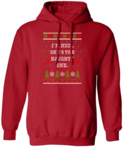 redirect10112021101058 2 247x296px I'm Nice She's The Naughty One Couples Christmas Sweatshirt