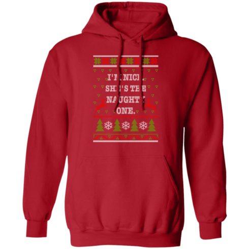 redirect10112021101058 2 490x490px I'm Nice She's The Naughty One Couples Christmas Sweatshirt