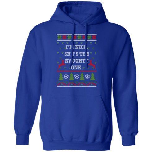 redirect10112021101058 3 490x490px I'm Nice She's The Naughty One Couples Christmas Sweatshirt